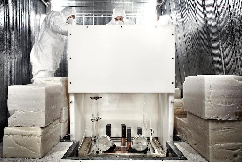 Apparati di ricerca della materia oscura<br /> <br /> equipment research dark matter