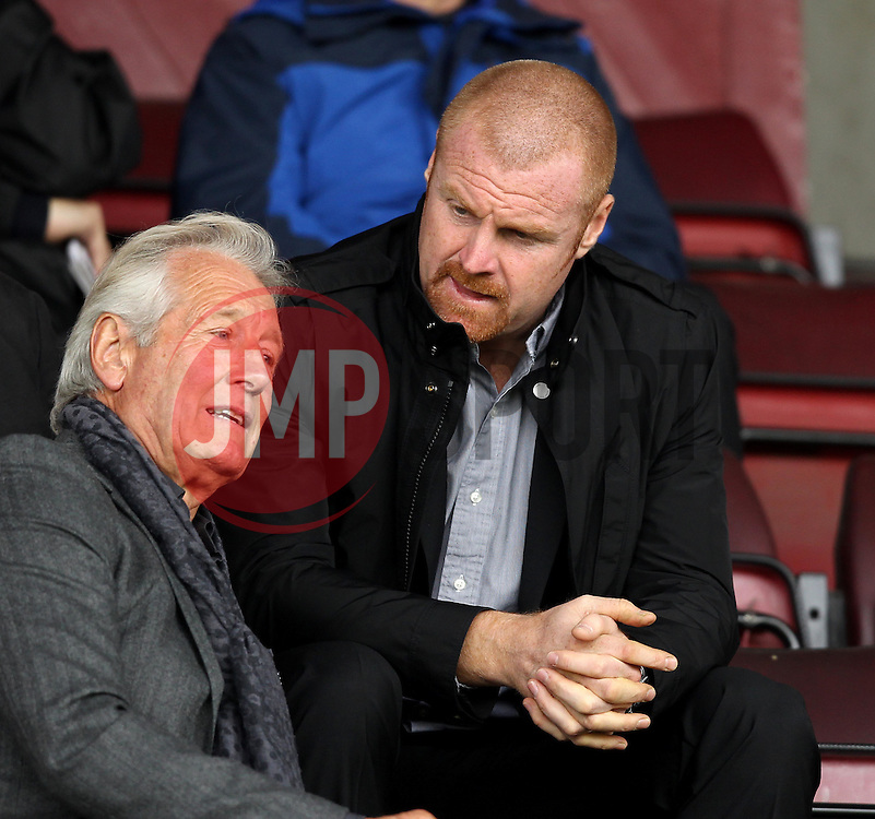 Burnley Manager Sean Dyche - Mandatory byline: Robbie Stephenson/JMP - 07966 386802 - 10/10/2015 - FOOTBALL - Sixfields Stadium - Northampton, England - Northampton Town v Hartlepool - Sky Bet League Two