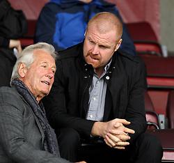Burnley Manager Sean Dyche - Mandatory byline: Robbie Stephenson/JMP - 07966 386802 - 10/10/2015 - FOOTBALL - Sixfields Stadium - Northampton, England - Northampton Town v Hartlepool - Sky Bet League Two