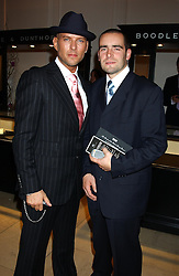 Left to right, 1980's pop star MATT GOSS and his brother ADAM GOSS at a evening to celebrate the unveiling of the British Luxury Club at The Orangery, Kensington Palace, London W8 on 16th September 2004.<br /><br />NON EXCLUSIVE - WORLD RIGHTS