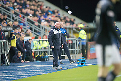 Falkirk's manager Peter Houston. <br /> Falkirk 3 v 2 Rangers, Scottish Championship game player at The Falkirk Stadium, 18/3/2016.
