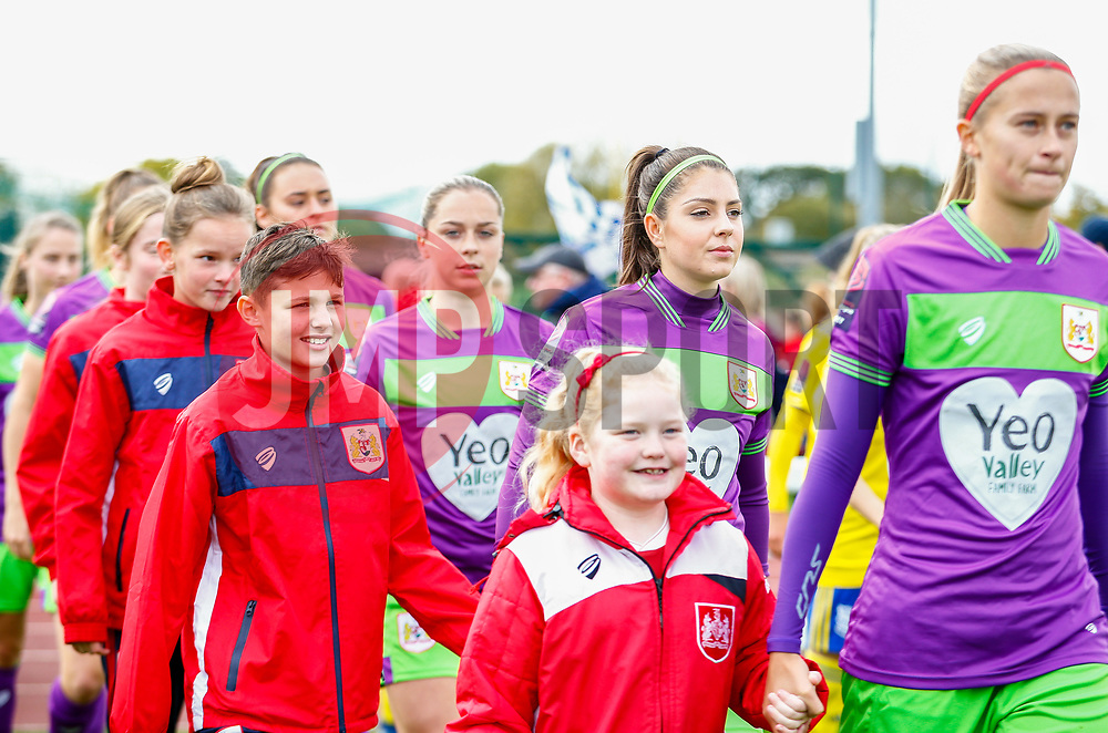 Carla Humphrey of Bristol City - Mandatory by-line: Ryan Hiscott/JMP - 14/10/2018 - FOOTBALL - Stoke Gifford Stadium - Bristol, England - Bristol City Women v Birmingham City Women - FA Women's Super League 1