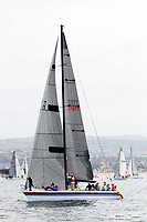 27 April 2018:  71st  Newport to Ensenada, Mexico International Yacht Race in the Pacific Ocean off the coast of Southern California. NOSA  77077 AMANTE CHOATE48 PHRF-C THE RICHLEY FAMILY
