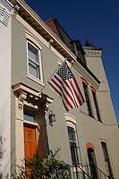 american flag in Washington, DC