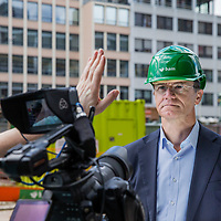 Nederland, Utrecht, 13 april 2017.<br /> Project Nieuwbouw Hoog Catharijne (NHC)<br />Op de foto: Rob van Wingeren/CEO BAM<br /><br /><br /><br /><br />Foto: Jean-Pierre Jans