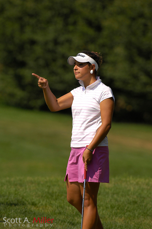 Amateur golfer Maria Jose Uribe during the U.S. Women's Amateur at Crooked Stick Golf Club on Aug. 12, 2007 in Carmel, Ind....©2007 Scott A. Miller