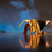 """September 18, 2012 - New York, NY : Lindsey Dietz Marchant performs during a dress rehearsal of Tami Stronach's """"MOTHER TONGUE"""" at Dance New Amsterdam in Manhattan on Tuesday night. CREDIT: Karsten Moran for The New York Times"""