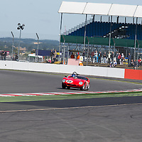 #46, Ferrari 246S (1960), Bobby Verdon-Roe (GB) and Nick Leventis (GB), Silverstone Classic 2015, Stirling Moss Trophy for Pre '61 Sports Cars. 25.07.2015. Silverstone, England, U.K.  Silverstone Classic 2015.
