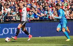 14-05-2017 NED: Kampioenswedstrijd Feyenoord - Heracles Almelo, Rotterdam<br /> In een uitverkochte Kuip pakt Feyenoord met een 3-0 overwinning het landskampioenschap / Rick Karsdorp #2