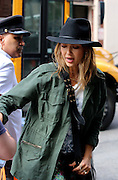 June 10, 2014 - New York City, NY, United States - <br /> <br /> Jessica Alba in New York<br /> <br /> Actress Jessica Alba arrives at a downtown hotel on June 10 2014 in New York City <br /> ©Exclusivepix