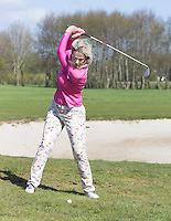 ALKMAAR - GOLF - INSTRUCTIE voor Golf.nl . MARLOES OLLING , pro van de Haarlemmermeersche GC. COPYRIGHT KOEN SUYK