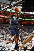 February 27, 2011 -  Pittsburgh Panthers forward Gilbert Brown (5) with a big dunk during an NCAA basketball game at the KFC Yum! Center in Louisville,  KY. between #6 Pittsburgh and #16 Louisville. Louisville upset Pittsburgh 62-59