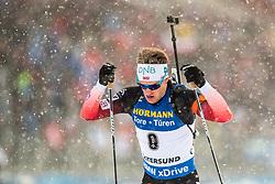 March 9, 2019 - –Stersund, Sweden - 190309 Tarjei Bø of Norway competes in the Men's 10 KM sprint during the IBU World Championships Biathlon on March 9, 2019 in Östersund..Photo: Johan Axelsson / BILDBYRÃ…N / Cop 245 (Credit Image: © Johan Axelsson/Bildbyran via ZUMA Press)