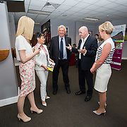 31.05.2018.          <br /> LEO Limerick welcomed Sean Gallagher to Limerick to talk about his new book 'Secrets to Success- Inspiring Stories from Leading Entrepreneurs'.<br /> Pictured at the event in Thomond Park were, Norma Purtill, LEO, Mary Killeen, Leo, Eamon Ryan, Leo, Sean Gallagher and Chris Clancy, LEO. Picture: Alan Place