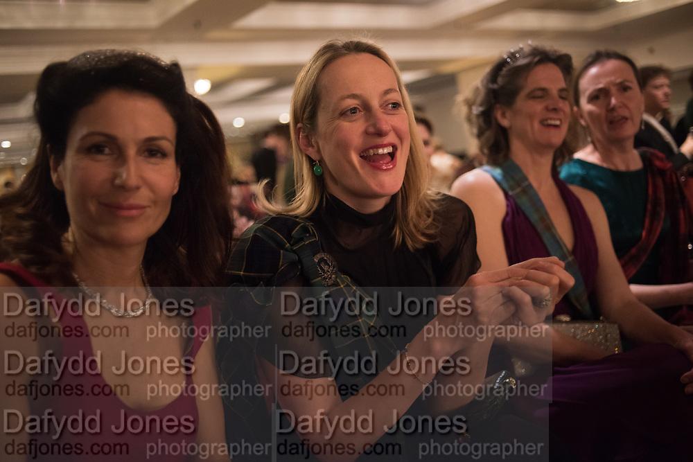 STEFANIA CALICERITA KONIG; LAURA GODSALL, BENEDICT DRUMMOND, The Royal Caledonian Ball 2017, Grosvenor House, 29 April 2017