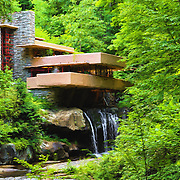 &quot;Fallingwater Painterly 4&quot;<br />