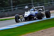 2012 British F3 International Series.Donington Park, Leicestershire, UK.27th - 30th September 2012.Ruper Svendsen-Cook, Double R Racing..World Copyright: Jamey Price/LAT Photographic.ref: Digital Image Donington_F3-18288