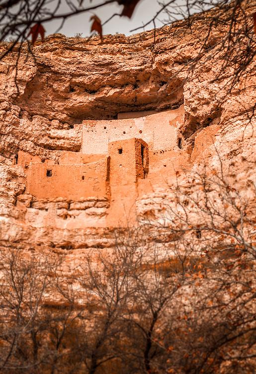 Old indian ruin in southern Arizona.