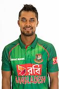 Shabbir Rahaman Roman, Bangladesh cricket team headshots ahead of their New Zealand tour. Cobham Oval, Whangarei. 21 December 2016. Copyright Image: Heath Johnson / www.photosport.nz