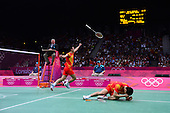 Badminton, Mens - Doubles Gold Medal Match