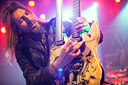Bumblefoot (Ron Thal) during Sons of Apollo performance at The Opera House.<br />