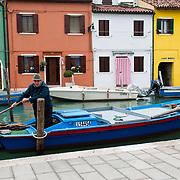 The magic and colourful island of Burano