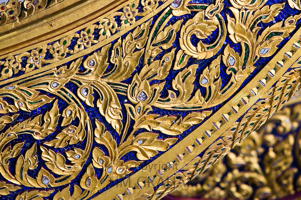 Ceremonial barge at the Royal Barge Museum in Bangkok, Thailand