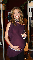 Actress TRACY SHAW at the Macmillan Cancer Relief Celebrity Christmas Stocking Auction held at Christie's, South Kensington, London on 8th December 2004.<br /><br />NON EXCLUSIVE - WORLD RIGHTS