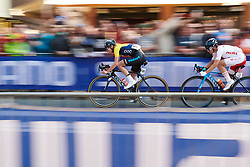 Emilia Fahlin (SWE) at UCI Road World Championships 2018 - Elite Women's Road Race, a 156.2 km road race in Innsbruck, Austria on September 29, 2018. Photo by Sean Robinson/velofocus.com