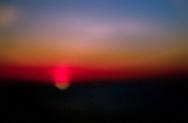 Beautiful colours of the setting sun.
