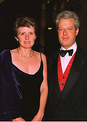 LORD & LADY KENILWORTH at a ball in London on 18th September 1998.MKD 16