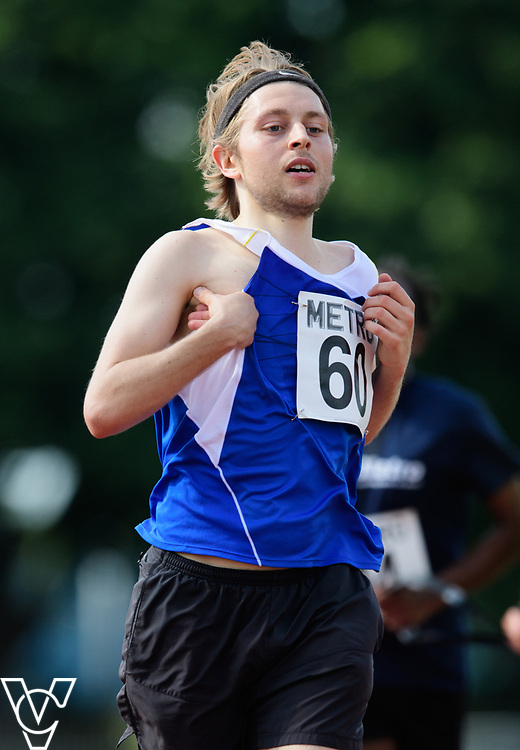 Metro Blind Sport's 2017 Athletics Open held at Mile End Stadium.  5000m.  Tom Skelton<br /> <br /> Picture: Chris Vaughan Photography for Metro Blind Sport<br /> Date: June 17, 2017