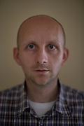 Jakub Turca, 38, at home in Petrovice.