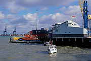 A728H1 Harwich RNLI lifeboat station Essex England