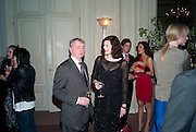 STEPHEN QUINN; JASMINE GUINNESS<br /> Dinner to mark 50 years with Vogue for David Bailey, hosted by Alexandra Shulman. Claridge's. London. 11 May 2010 *** Local Caption *** -DO NOT ARCHIVE-© Copyright Photograph by Dafydd Jones. 248 Clapham Rd. London SW9 0PZ. Tel 0207 820 0771. www.dafjones.com.<br /> STEPHEN QUINN; JASMINE GUINNESS<br /> Dinner to mark 50 years with Vogue for David Bailey, hosted by Alexandra Shulman. Claridge's. London. 11 May 2010