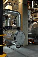 14/10/11 - DUNIERES - HAUTE LOIRE - FRANCE - Scierie MOULIN. Centrale thermique a bois - Photo Jerome CHABANNE