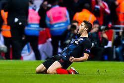 Andrej Kramaric of Croatia celebrates scoring a goal to make it 1-0 - Mandatory by-line: Robbie Stephenson/JMP - 18/11/2018 - FOOTBALL - Wembley Stadium - London, United Kingdom - England v Croatia - UEFA Nations League