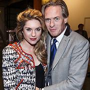 NLD/Amsterdam/20131113 - VIP avond bij Isabel Marant pour H&M, Lauren Verster en partner Jort Kelder