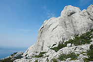 Bojinac, an area of dramatic karst scenery in Paklenica National Park, Southern Velebit Mountains, Croatia
