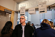 Voters coming and going at a polling place in Tewksbury, MA, Super Tuesday,  Tuesday, March 1, 2016.  CREDIT: Cheryl Senter for The New York Times
