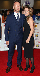 Christian Horner, Geri Halliwell, Pride of Britain Awards, Grosvenor House Hotel, London UK. 28 September, Photo by Richard Goldschmidt /LNP © London News Pictures