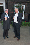 GERRY FARRELL; BILL FORSE, Elliott and Thompson host a book launch of How the Queen can Make you Happy by Mary Killen.- Book launch. The O' Shea Gallery. St. James's St. London. 20 June 2012.