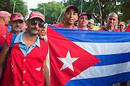 Labor Day Parade, Havana Vedado, Cuba.