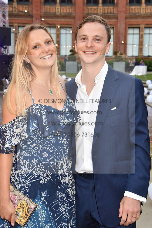 Charles Astor and Princess Eliane Astor at the Victoria & Albert Museum's Summer Party in partnership with Harrods at The V&A Museum, Exhibition Road, London, England. 20 June 2018.