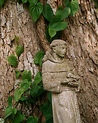 "Statuette of St. Francis of Assisi. NOTE: Click ""Shopping Cart"" icon for available sizes and prices. If a ""Purchase this image"" screen opens, click arrow on it. Doing so does not constitute making a purchase. To purchase, additional steps are required."