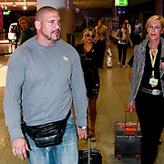 GER/Frankfurt/20110914 - Fergie, singer of the Black Eyed Peas o the airport of Frankfurt in Germany