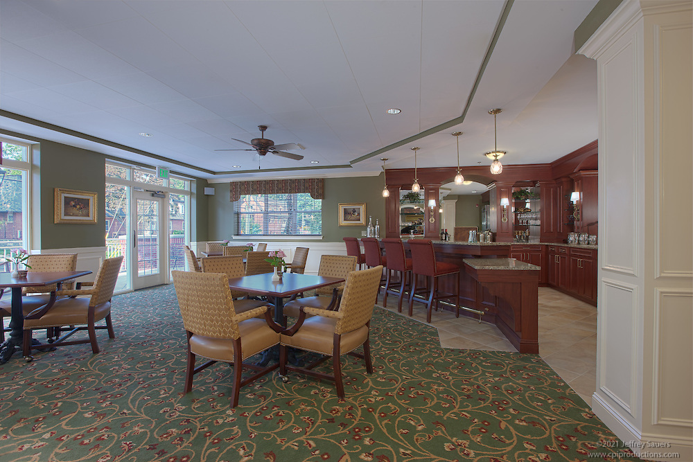 Senior Living Center Lounge Image at Bright view Towson Assisted Living