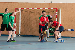 Deaf Handball at the 2014 Coupe Nationale Multisport Sourds, Brissac, France