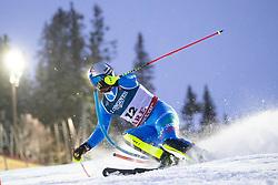 11.02.2019, Aare, SWE, FIS Weltmeisterschaften Ski Alpin, alpine Kombination, Herren, Slalom, im Bild Dominik Paris (ITA) // Dominik Paris of Italy reacts after the Slalom competition of the men's alpine combination for the FIS Ski World Championships 2019. Aare, Sweden on 2019/02/11. EXPA Pictures © 2019, PhotoCredit: EXPA/ Johann Groder