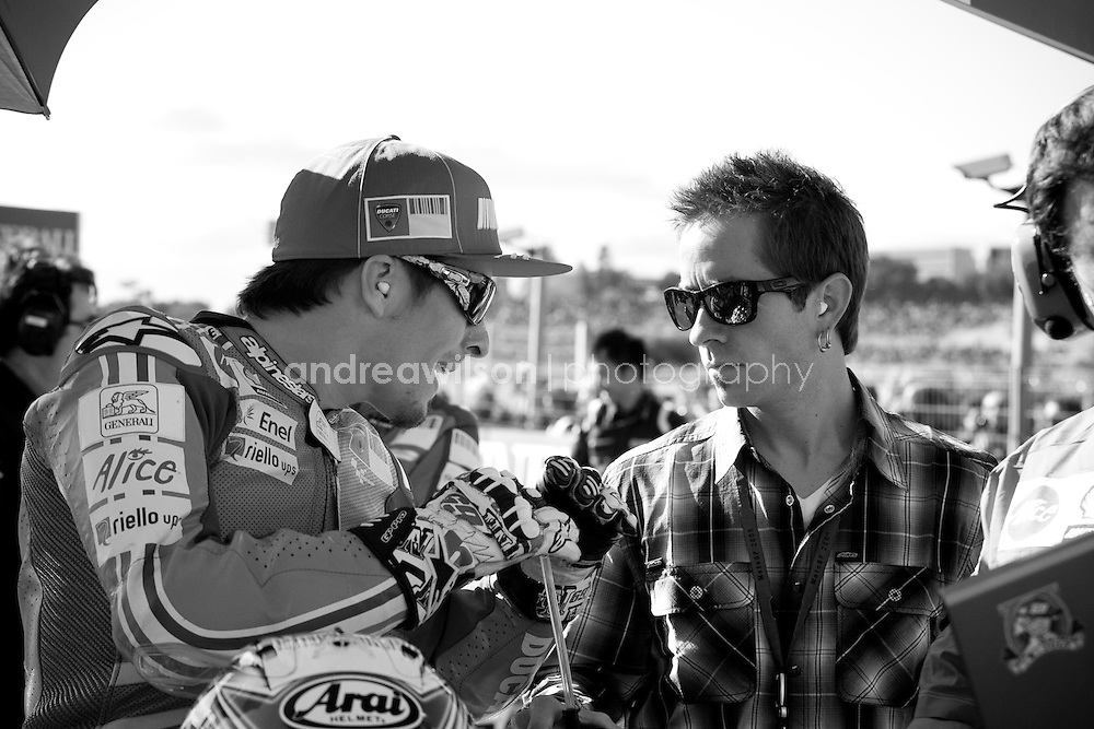 Round 18 - MotoGP - G.P. De La Comunitat- Spain - Valencia - November 6-8, 2009.:: Contact me for download access if you do not have a subscription with andrea wilson photography. ::  ..:: For anything other than editorial usage, releases are the responsibility of the end user and documentation will be required prior to file delivery ::